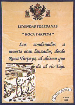 Tres culturas la roca tarpeya for Roca toledo