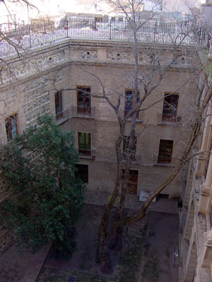 Patio interior del Colegio de Doncellas Nobles de Toledo