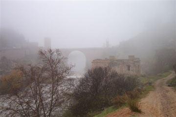 Puente de Alcántara y río Tajo