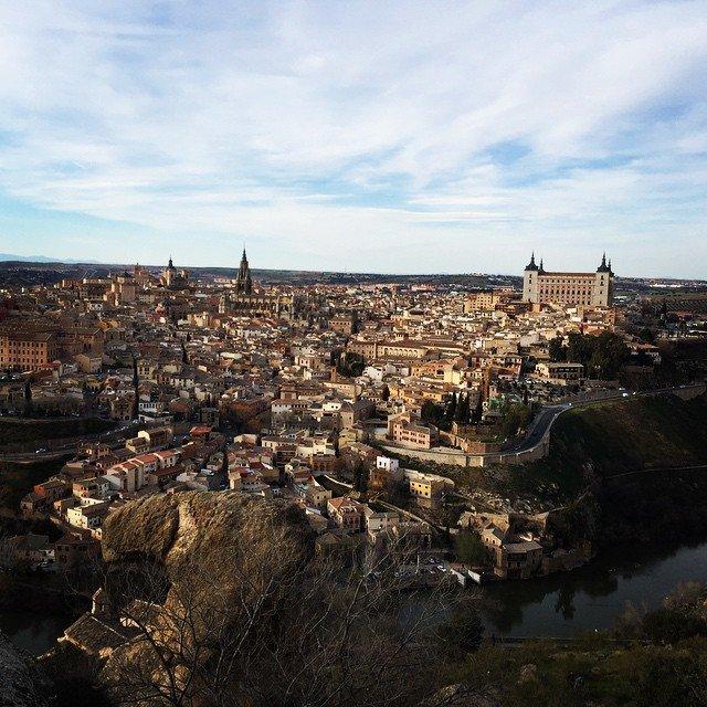 Vista de Toledo desde la Piedra del Rey Moro