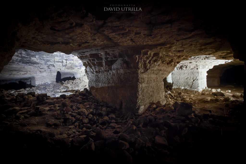 Cueva de Higares, cerca de Toledo, por David Utrilla