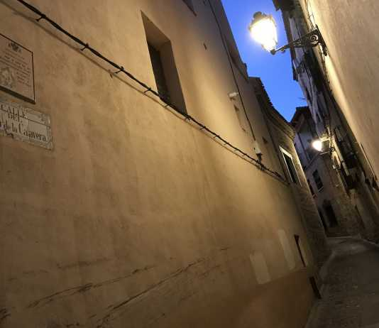 Calle del Cristo de la Calavera en Toledo