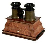Estereoscopio tipo Brewster (1870)