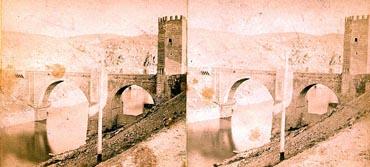 Puente de Alcántara. 1860