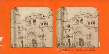 Portail de la Cathedrale de Tolede.