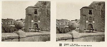 Puerta Puente de San Martín. 1930