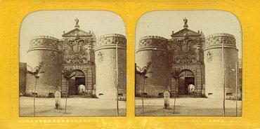 Puerta de Bisagra. 1865