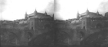 Puente de Alcántara y Alcázar. 1912