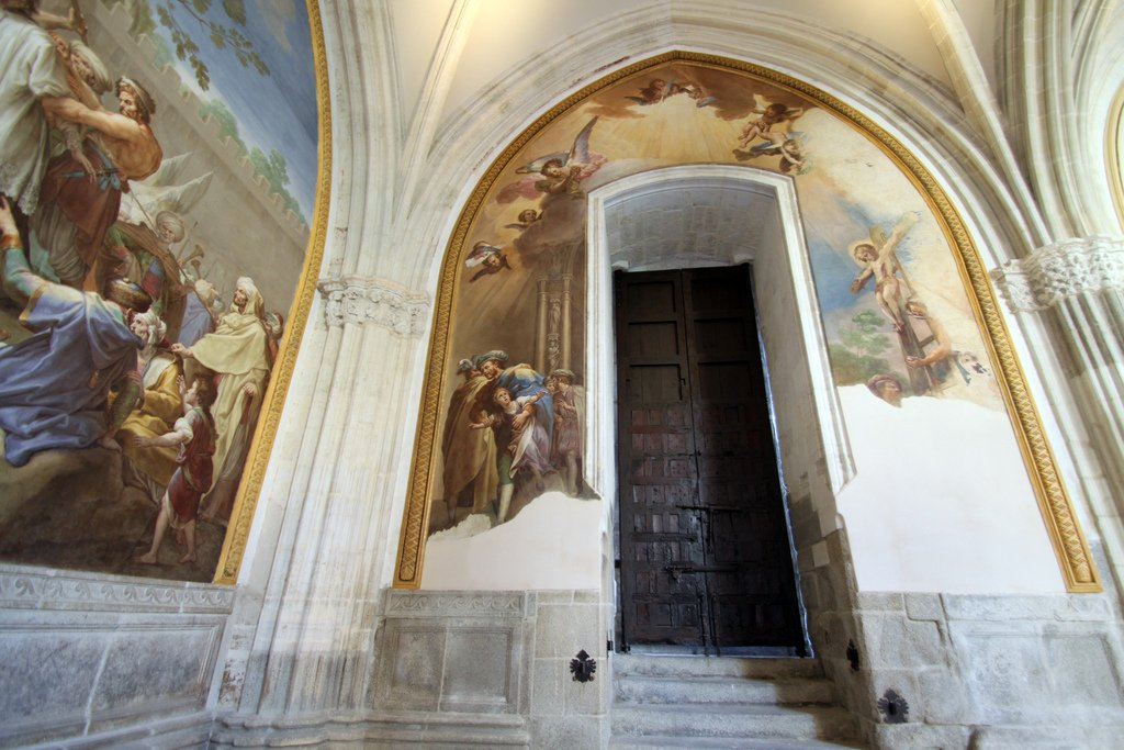 Rapto del Santo Niño de La Guardia, claustro Catedral de Toledo