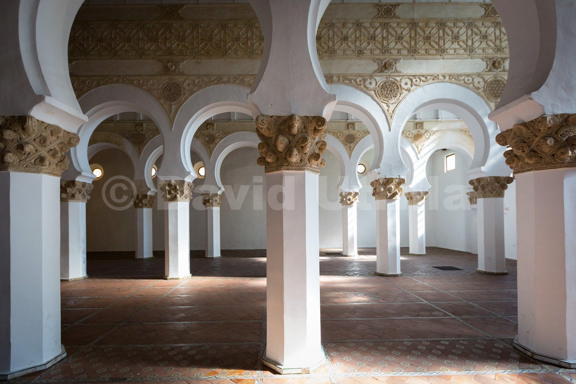 Sinagoga Santa Maria La Blanca Leyendas De Toledo