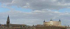 El Alcázar de Toledo y la Catedral