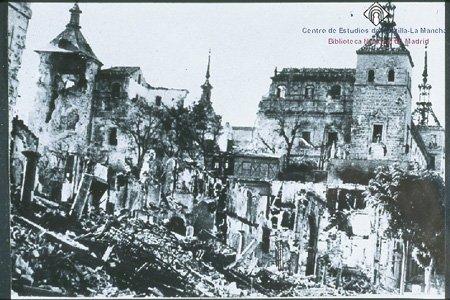 El Alcázar de Toledo, durante el Asedio en la Guerra Civil Española