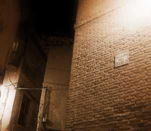 Callejón del Diablo en Toledo