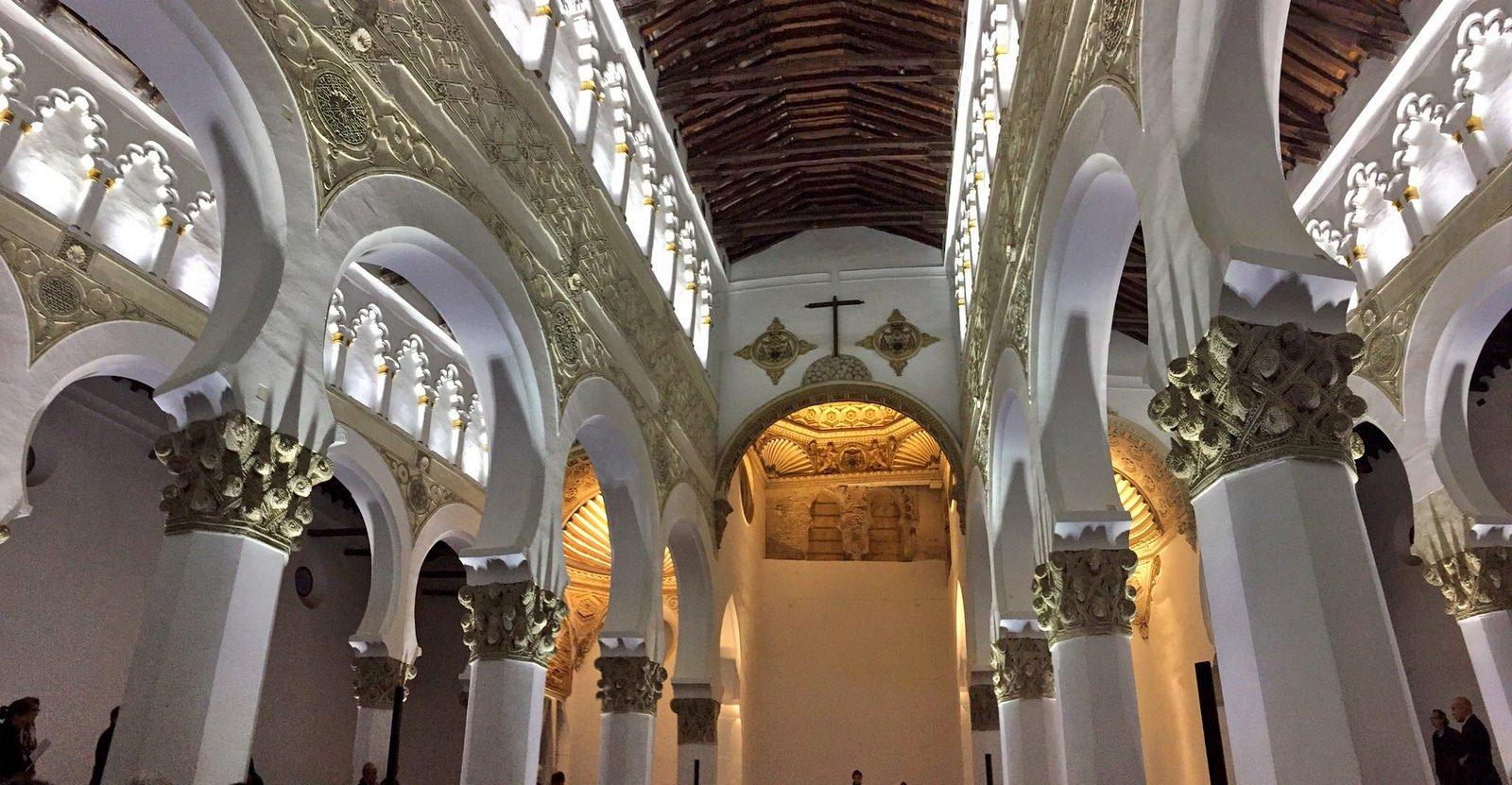 Resultado de imagen de sinagoga de santa maría la blanca de toledo