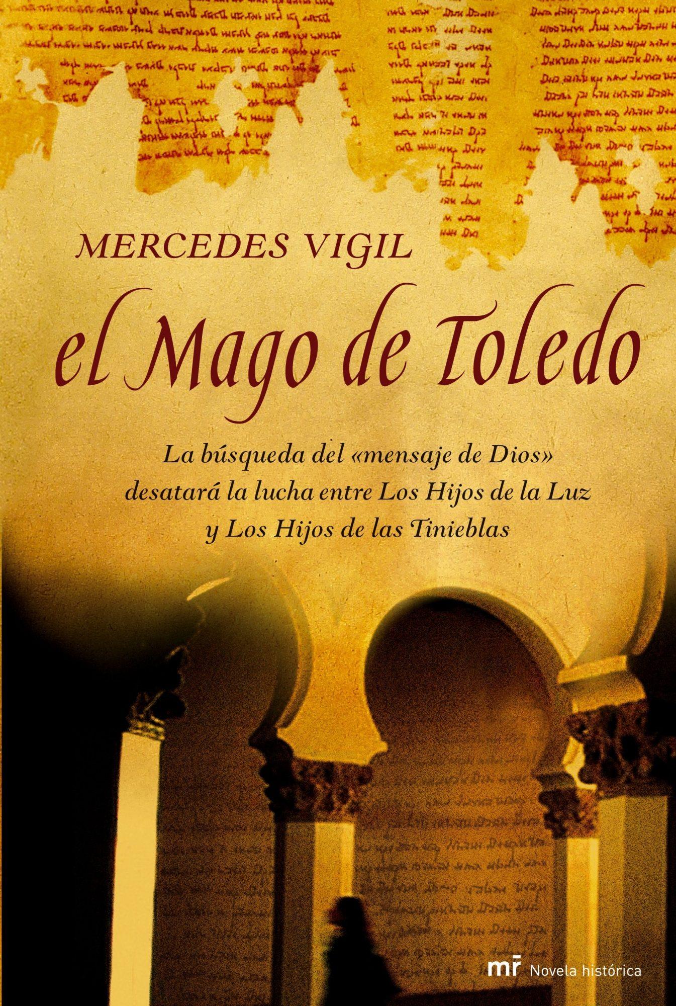 """Portada novela """"El Mago de Toledo"""" de Mercedes Vigil"""