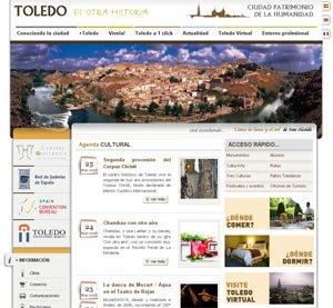 Nuevo Portal Web Turístico para Toledo
