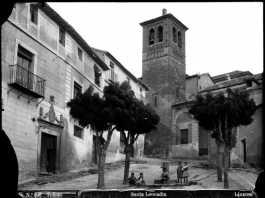Cuesta e Iglesia de Santa Leocadia en Toledo