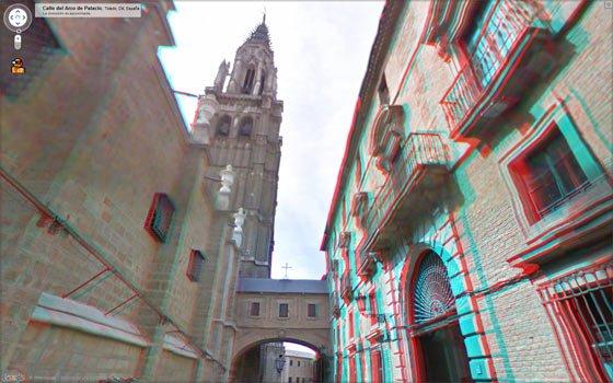 Toledo en 3D. Catedral (Google Street View)