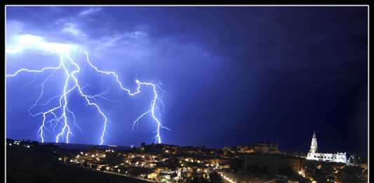 Tormenta de Verano sobre Toledo, por Mutelot