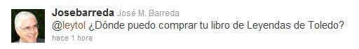 Twitter de Jose Mª Barreda