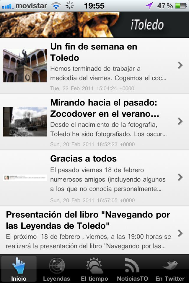 Novedades Toledo