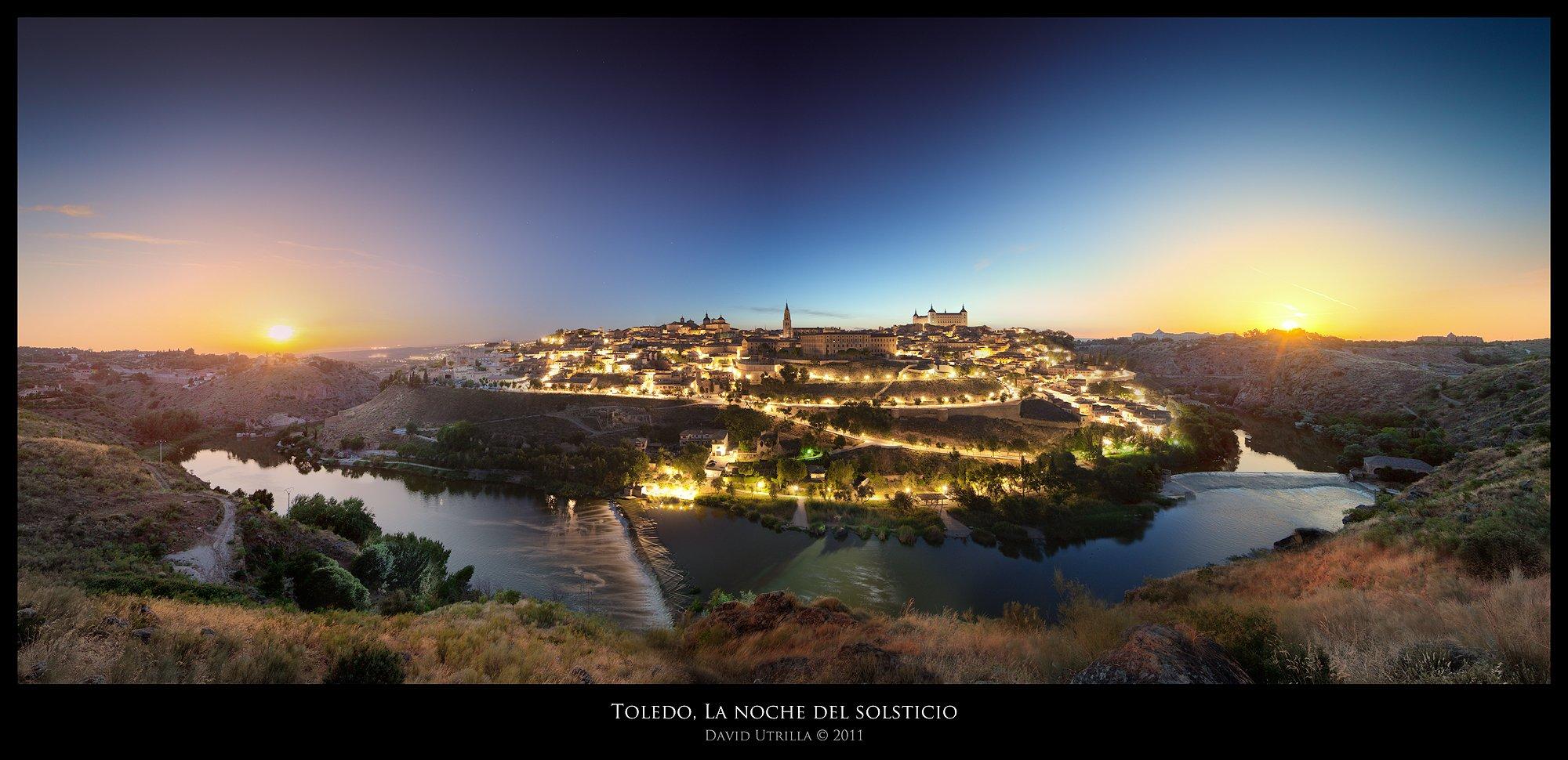 La noche del solsticio de verano en Toledo