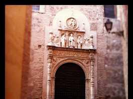 Portada monasterio de San Clemente