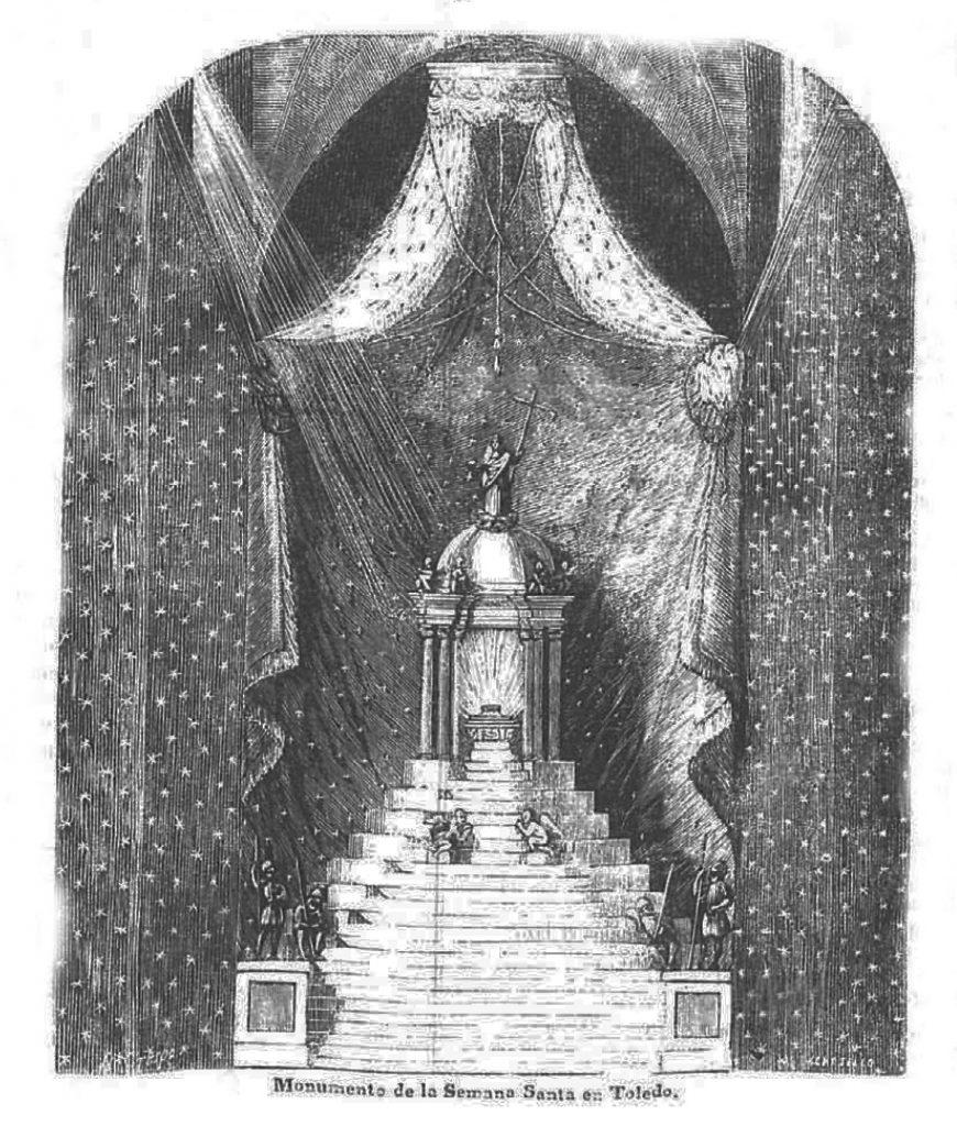 El Monumento de la Catedral en Semana Santa