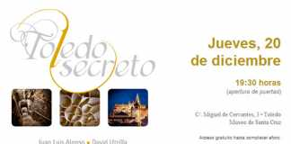Invitación Toledo Secreto