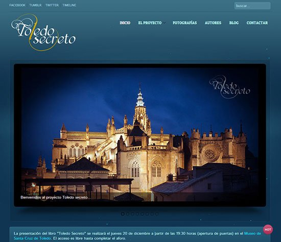 Web Toledo Secreto