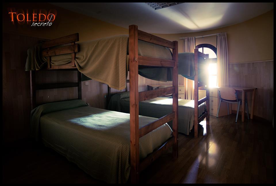 La embrujada habitación T4 en el torreón del Castillo de San Servando de Toledo. Foto: David Utrilla.