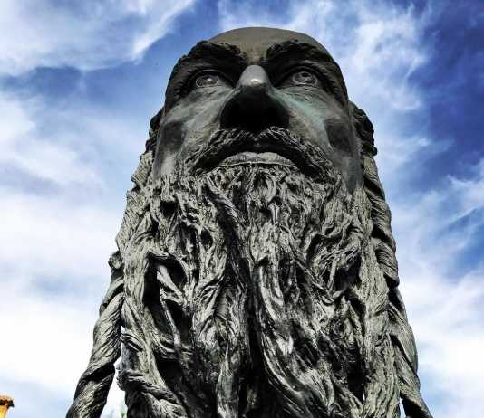 Estatua Samuel ha Leví en Toledo