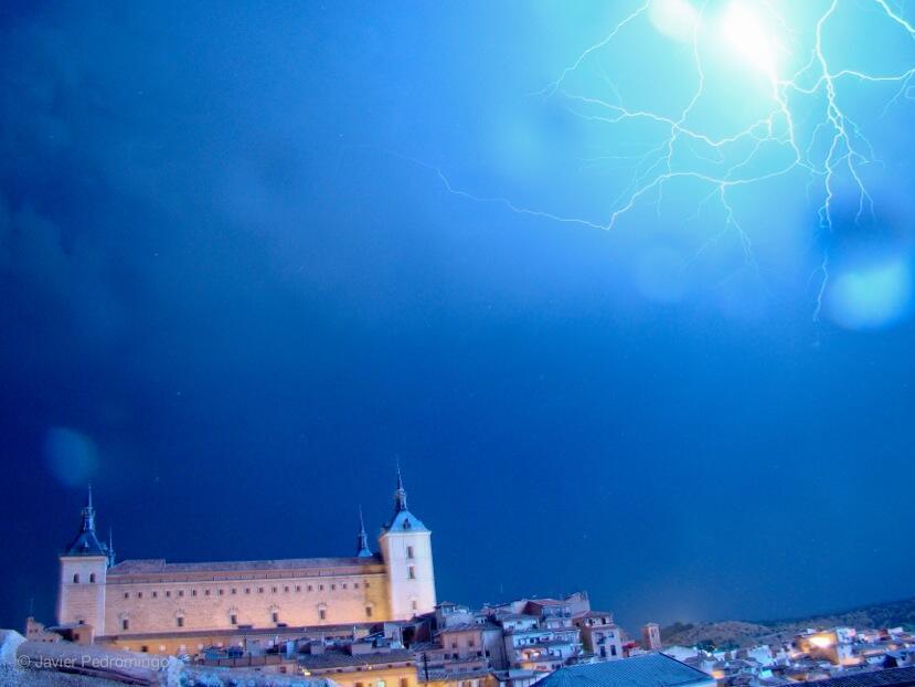 Tormenta en Toledo Verano 2013