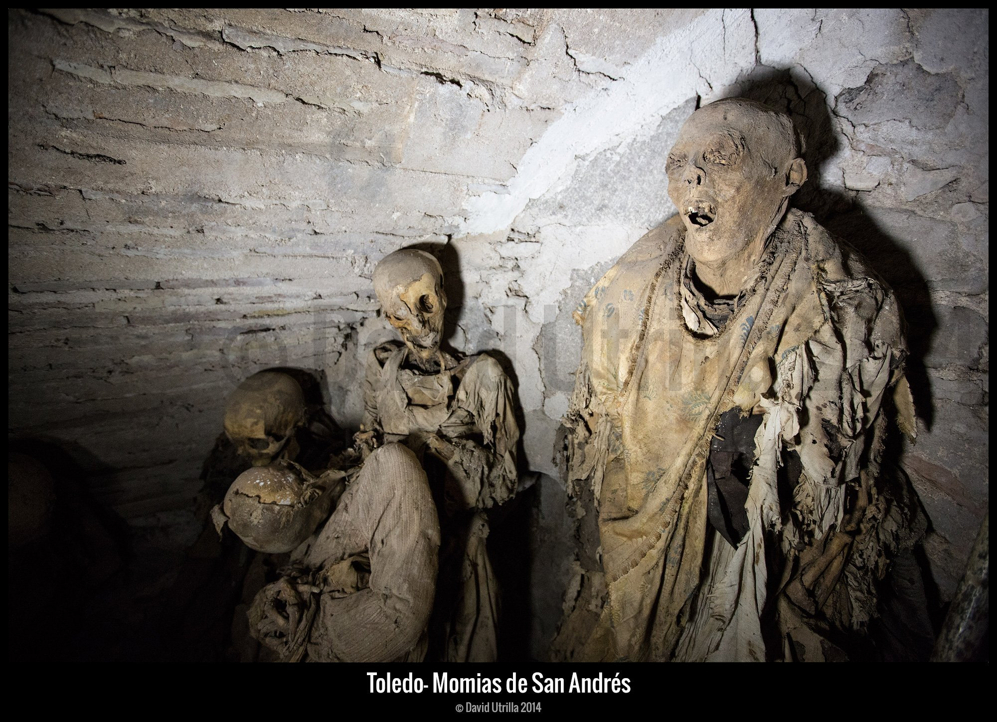 Momias de San Andrés en Toledo por David Utrilla