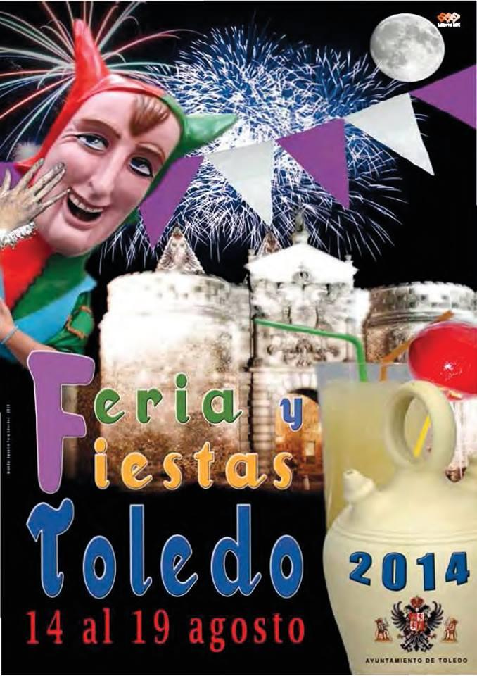 Feria y fiestas agosto Toledo 2014 cartel
