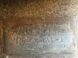 Don Diego de la Salve, lápida