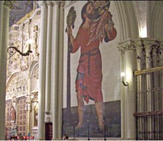 San Cristóbal Catedral de Toledo