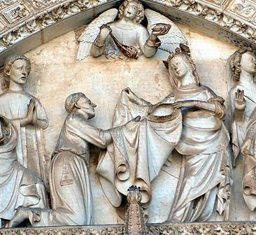 Imposición de la Casulla a San Ildefonso
