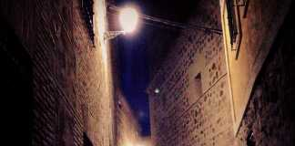 Calle misteriosa en Toledo