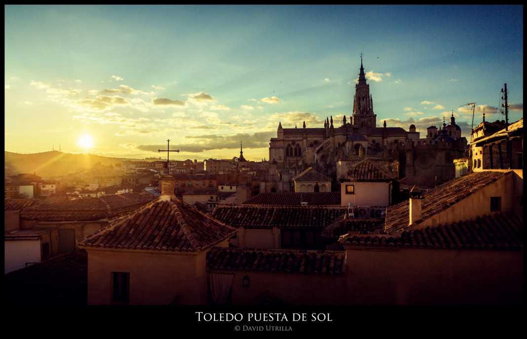 Puesta de Sol en Toledo, por David Utrilla