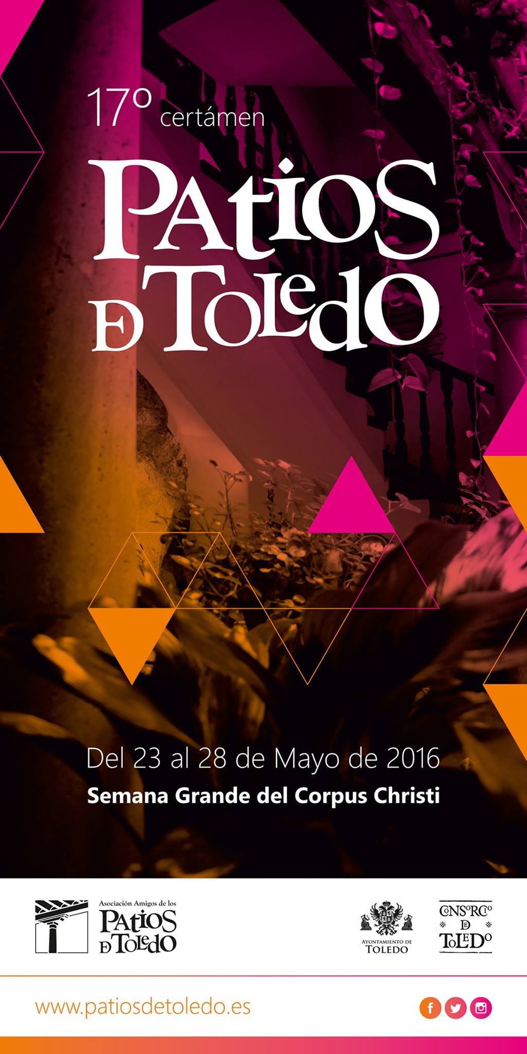 Cartel Patios Toledo 2016