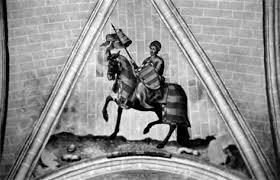 Pintura de Esteban Illán en la Catedral de Toledo, frente al Transparente (Fuente: RealAcademiaToledo.es)