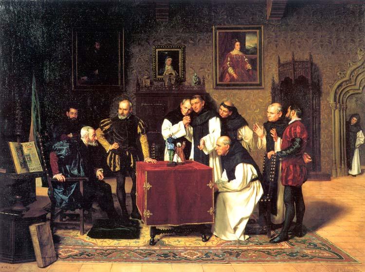 Juanelo Turriano con Carlos V