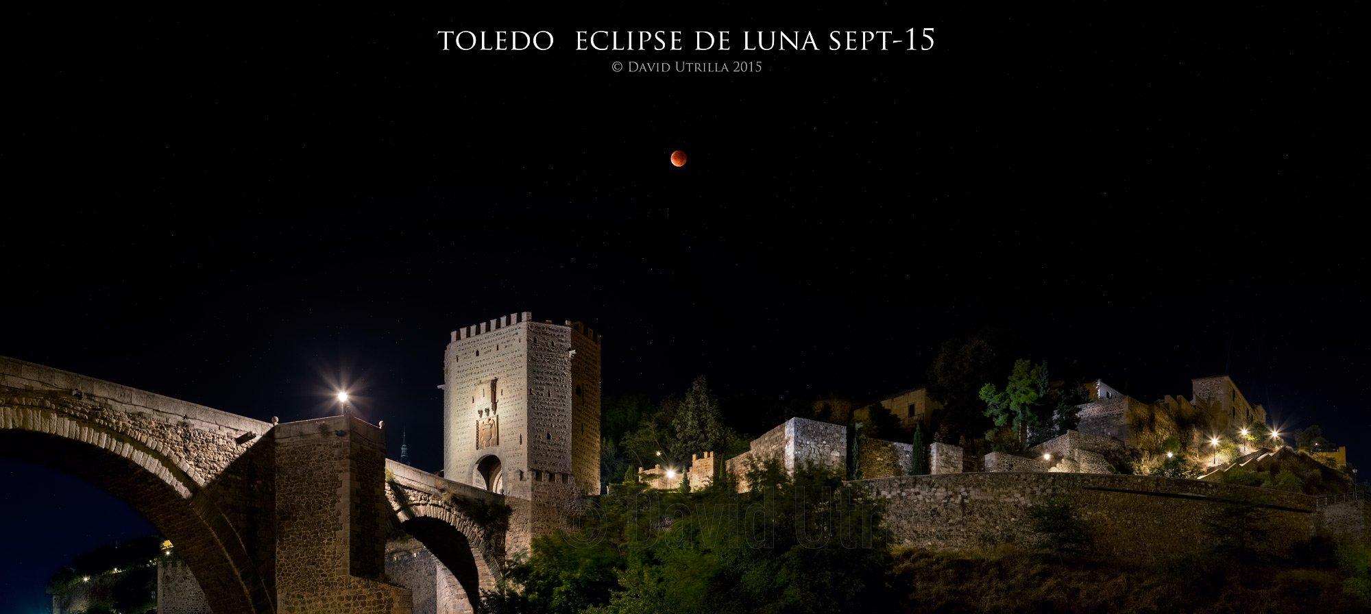 Eclipse de Luna en Toledo