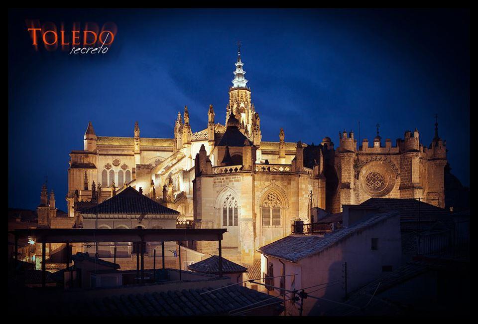 Catedral de Toledo, al anochecer. Foto: David Utrilla para Toledo Secreto.