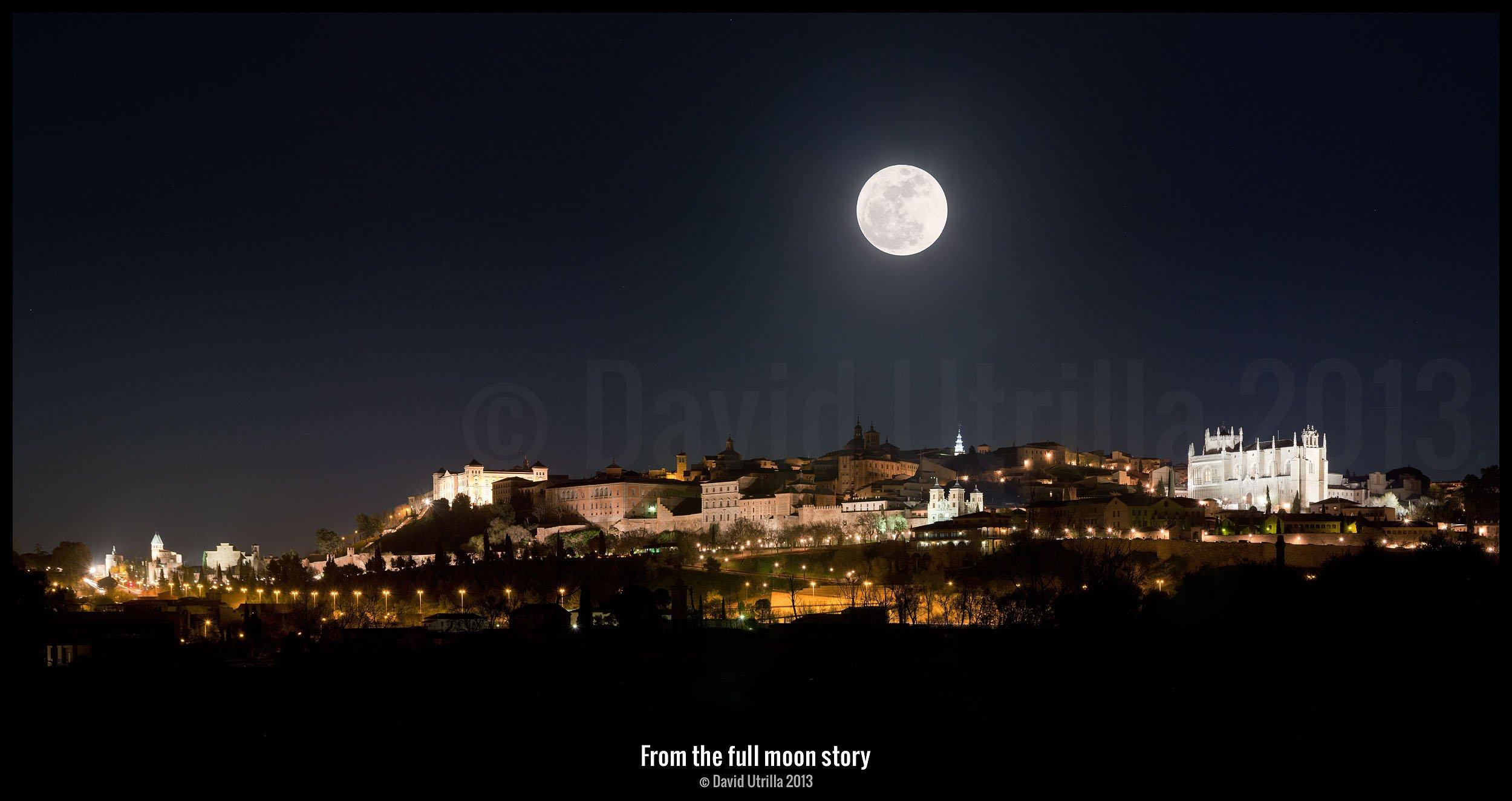 Luna en 2013, por David Utrilla