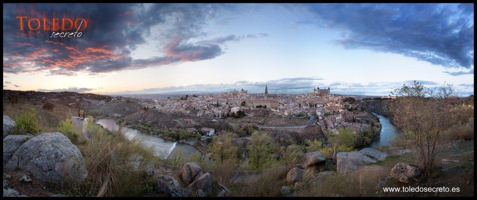 Vista típica de Toledo desde El Valle, por David Utrilla