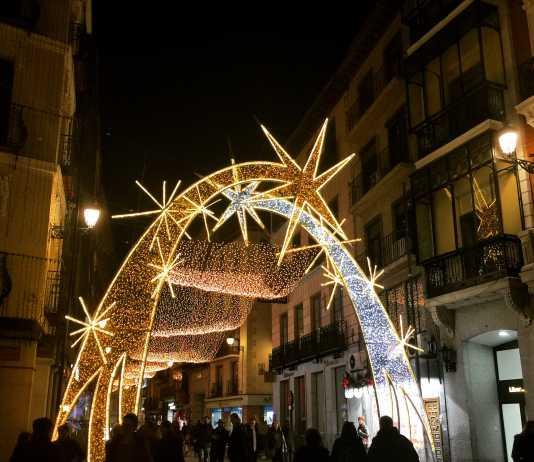 Luces de Navidad en Toledo