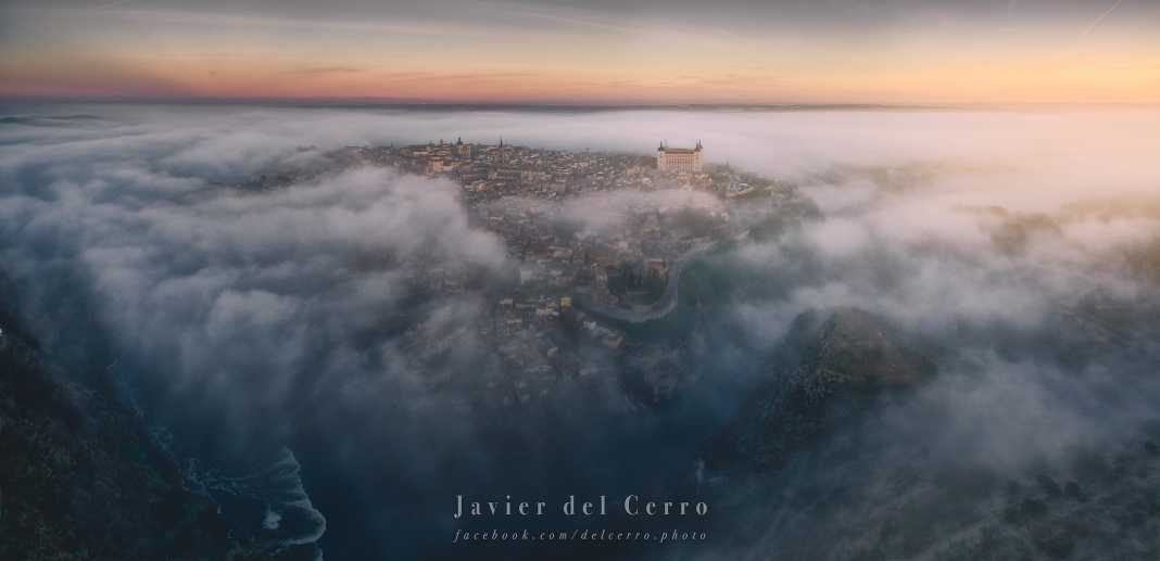 Foggy Toledo. Por Javier del Cerro