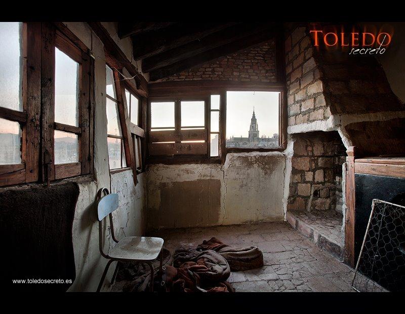 Casa abandonada en Toledo